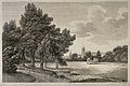 City of Oxford; a glimpse of the city from the meadows. Etch Wellcome V0014235.jpg