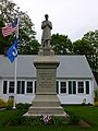Civil War memorial at Raynham Public Library; Raynham, MA.jpg