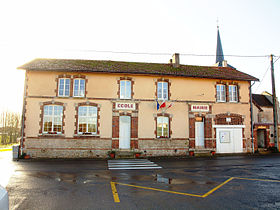 Mairie de Clamanges.