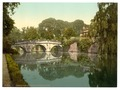 Clare College and Bridge, Cambridge, England-LCCN2002696453.tif