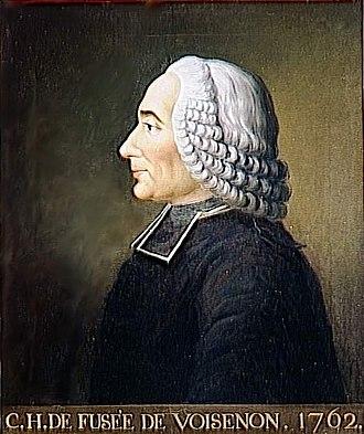 Claude-Henri de Fusée de Voisenon - Claude-Henri de Fusée de Voisenon. 1762.