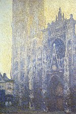 Claude Monet - Rouen Cathedral, Facade and Tour d'AlbaneI.JPG