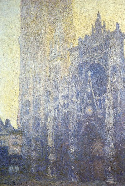 File:Claude Monet - Rouen Cathedral, Facade and Tour d'AlbaneI.JPG