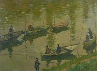 Fishermen in Poissy