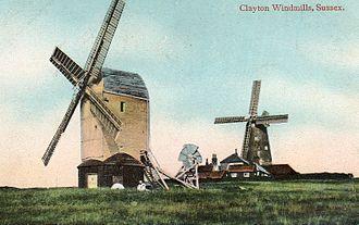 Clayton Windmills - Image: Clayton mills