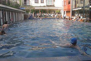 The Lido, Bristol - Image: Clifton Lido pool