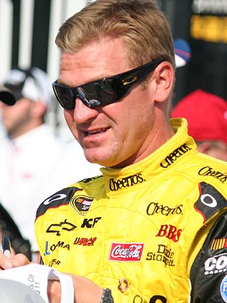 2011 NASCAR Sprint Cup Series - Clint Bowyer, shown here before the Coca-Cola 600, claimed his only victory of the season in the Good Sam Club 500 at Talladega.