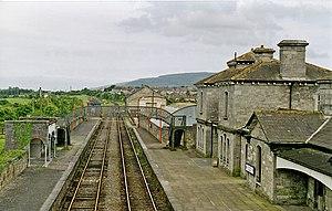 Clonmel railway station - Image: Clonmel Station geograph.org.uk 2236866
