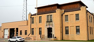 National Register of Historic Places listings in Curry County, New Mexico - Image: Clovis Central Fire Station, Clovis, NM