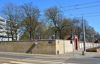 Protestant Reformed Cemetery, Warsaw - Image: Cmentarz ewangelicko reformowany w Warszawie 09