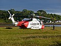 Coastguard Helicopter at Applecross - geograph.org.uk - 1250486.jpg