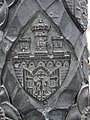Coat of Arms of Krakow on a Lamp Pile - panoramio.jpg