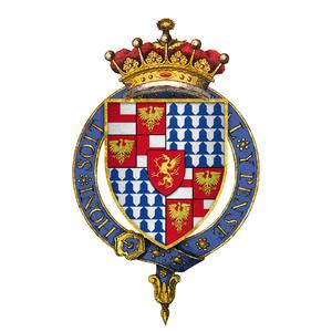 Richard Woodville, 1st Earl Rivers - Quartered arms of Sir Richard Wydeville, 1st Earl Rivers, KG