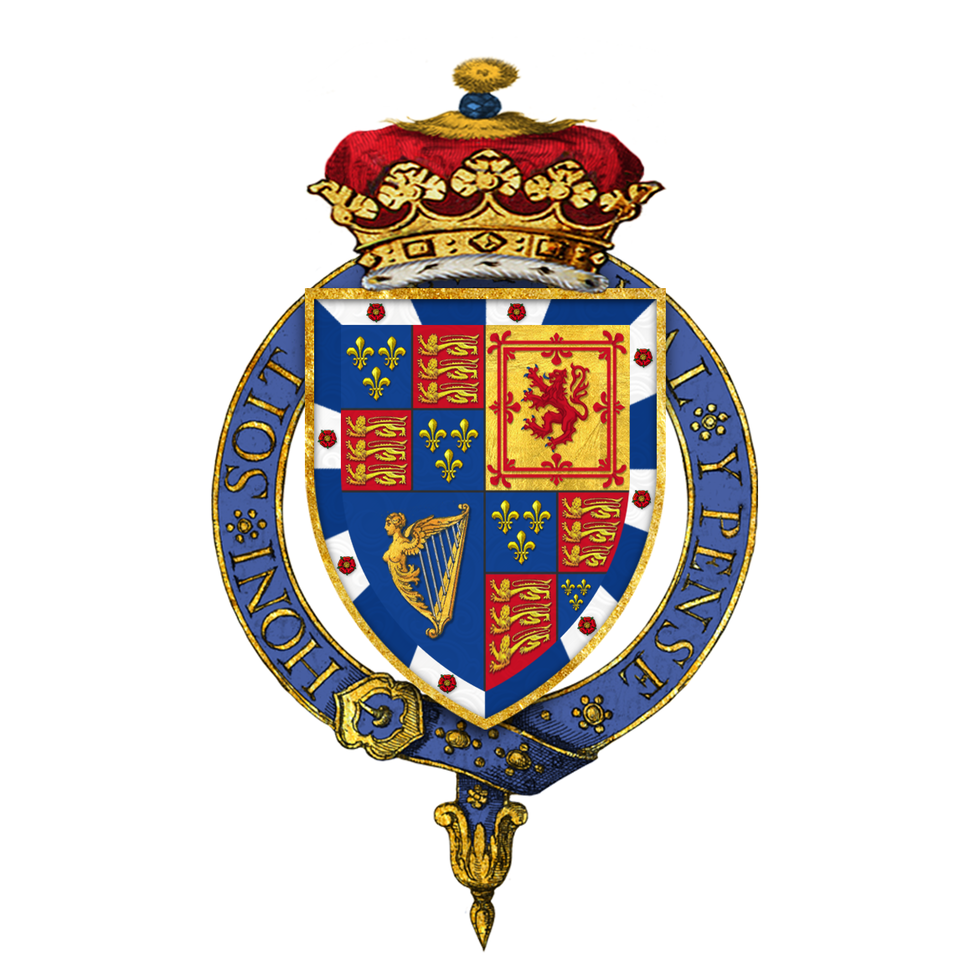 Coat of arms of Charles Lennox, 1st Duke of Richmond, KG