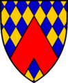 Coat of arms of sir Ferdinand Gorges.png