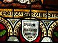 Cogulot église vitrail signature.JPG