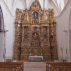 Colegiata de Santa María (Alquézar). Retablo mayor.jpg