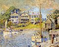 Colin Campbell Cooper, At Edgartown, Martha's Vinyard.jpg