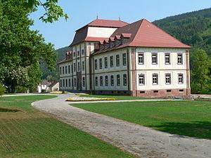 Collenberg - Schloss Fechenbach after restoration work in 2007