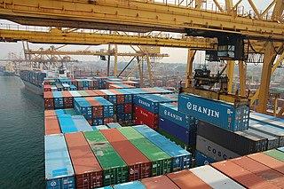 Port of Colombo Harbor of Shrilanka