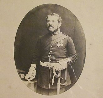109th Regiment of Foot (Bombay Infantry) - General Sir Richard Denis Kelly, colonel of the regiment in the early 1880s