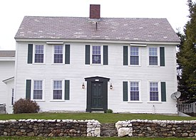 The Colonel Williams Inn On Molly Stark Trail State Route 9 In Marlboro Vermont Was Built C 1769