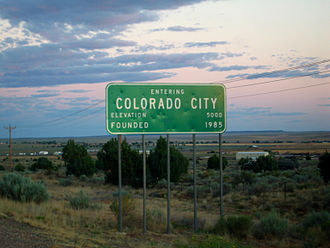 Colorado City, Arizona - Colorado City sign