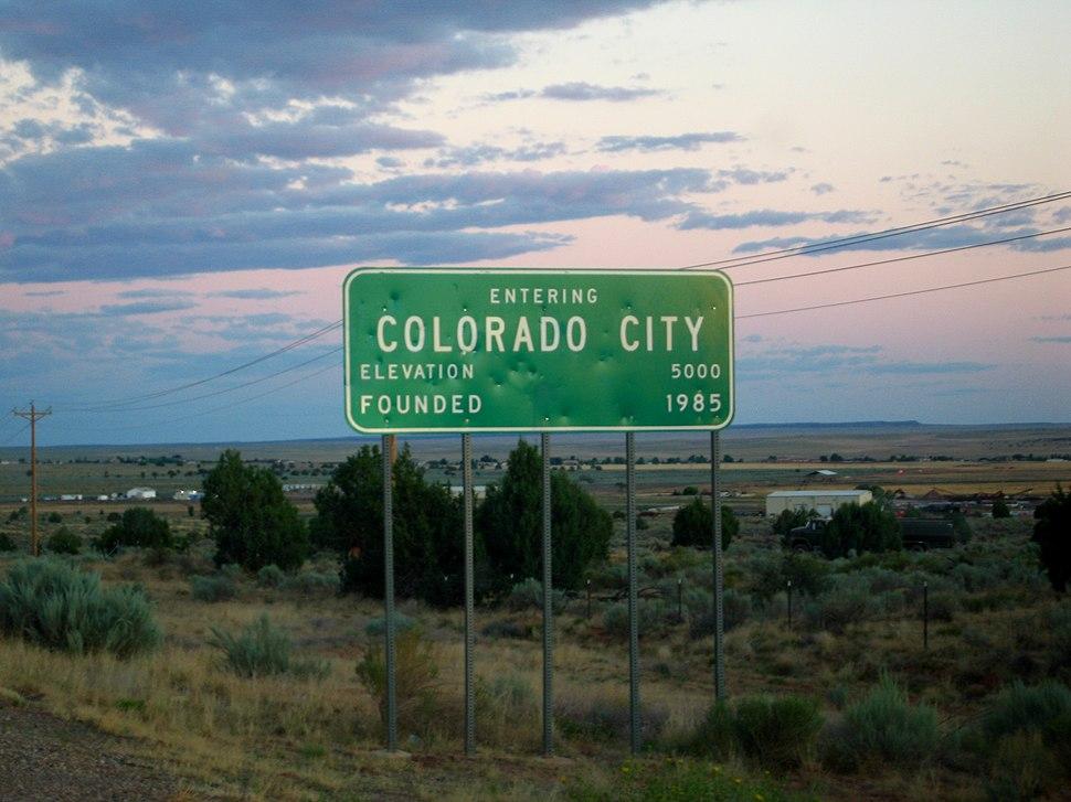 Colorado City sign