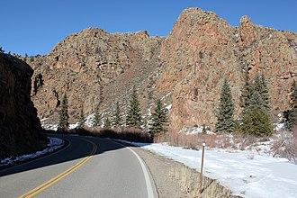 Colorado State Highway 114 - Image: Colorado State Highway 114