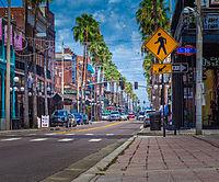 Ybor City - Wikipedia Ybor City Tampa With Street Map on ybor district map, ybor city walking map, ybor city things to do, ybor city trolley map,
