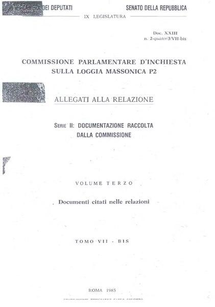 File:Commissione parlamentare d'inchiesta sulla loggia massonica P2 - documentazione raccolta dalla commissione.djvu