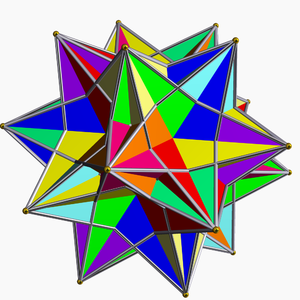 Compound of ten tetrahedra - Image: Compound of ten tetrahedra