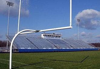 Comstock High School - Comstock Stadium, rebuilt in 2008