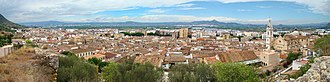 Xàtiva - Panoramic view of Xàtiva
