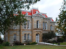 Concho County Courthouse i Paint Rock.