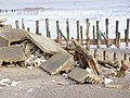 Concrete and Groyne - geograph.org.uk - 530218.jpg