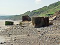 Concrete debris below Flat Cliffs - geograph.org.uk - 833957.jpg