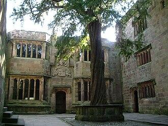 Skipton Castle - Image: Conduit Court Skipton Castle