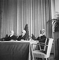 Congres van de Katholieke Actie te Utrecht. Achter de bestuurstafel zitten vlnr…, Bestanddeelnr 900-8255.jpg