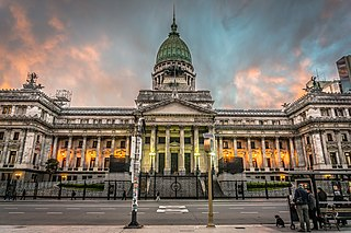 Palace of the Argentine National Congress architectural structure