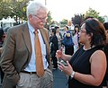 Congressman George Miller and Mona Pasquil (6277484628).jpg