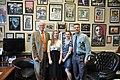 Congressman George Miller meets with Courtney von Savoye and her family (7410203552).jpg