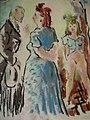 Constant Detré, A La Lanterne, ca. 1925, brothel scene, pastel on paper.jpg