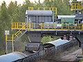 Conveyor belt exchange station at surface mine Schleenhain 18.jpg
