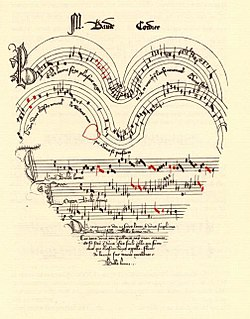 late medieval manuscript, and the primary source of music in the ars subtilior style