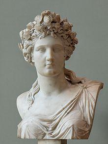 Edme-François-Étienne Gois, Busto di Corinna (1836), Louvre