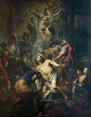 Cornelis Schut - Martyrdom of Saint George