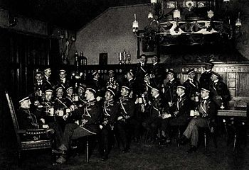 The active members of Corps Palatia in 1913