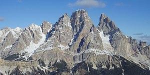 Cristallo (mountain) - Cristallo, south side