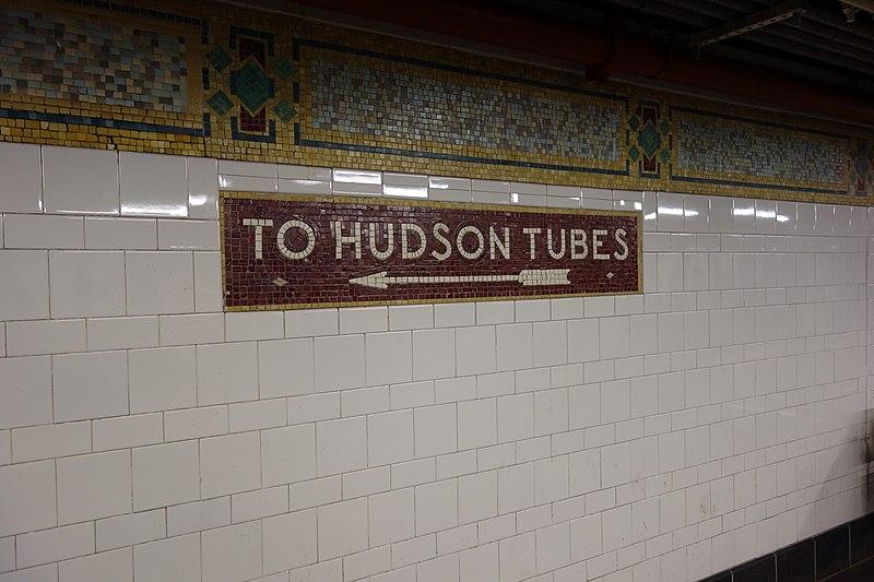 File:Cortlandt St BMT td 13 - Hudson Tubes.jpg